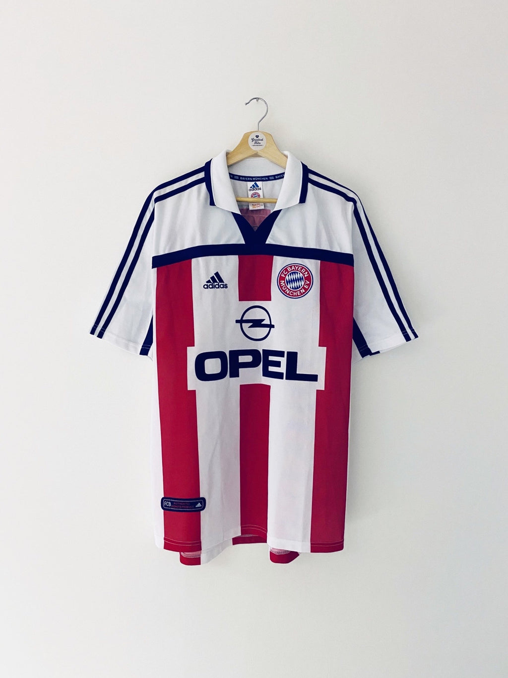 2000/01 Bayern Munich Away Shirt (L) 9.5/10