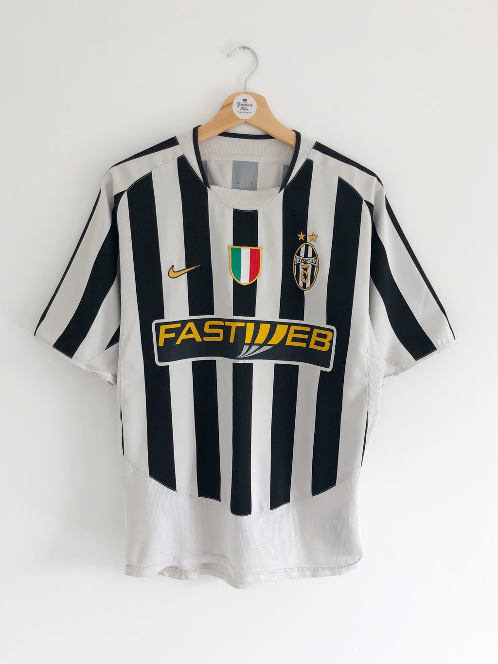 2003/04 Juventus Home Shirt (M) 7/10