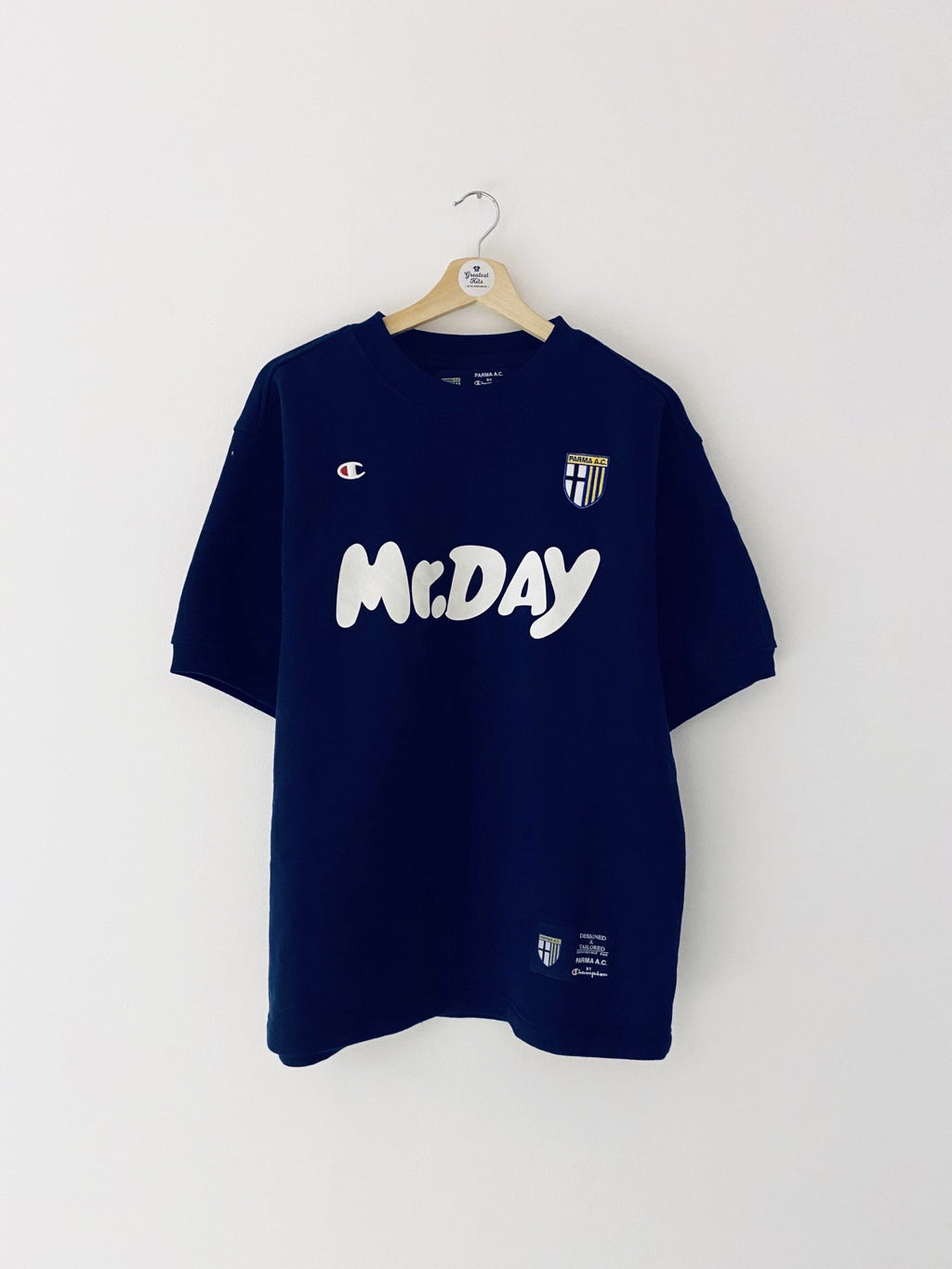 2000/01 Parma S/S Training Jumper (M) 9/10