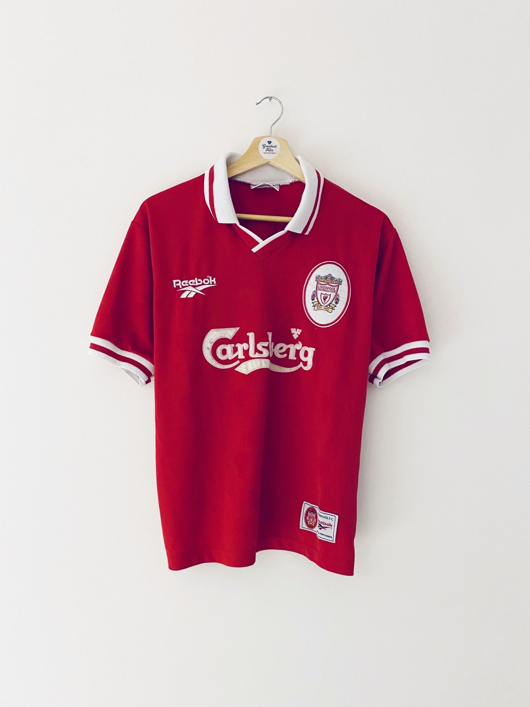 1996/98 Liverpool Home Shirt (S) 6.5/10