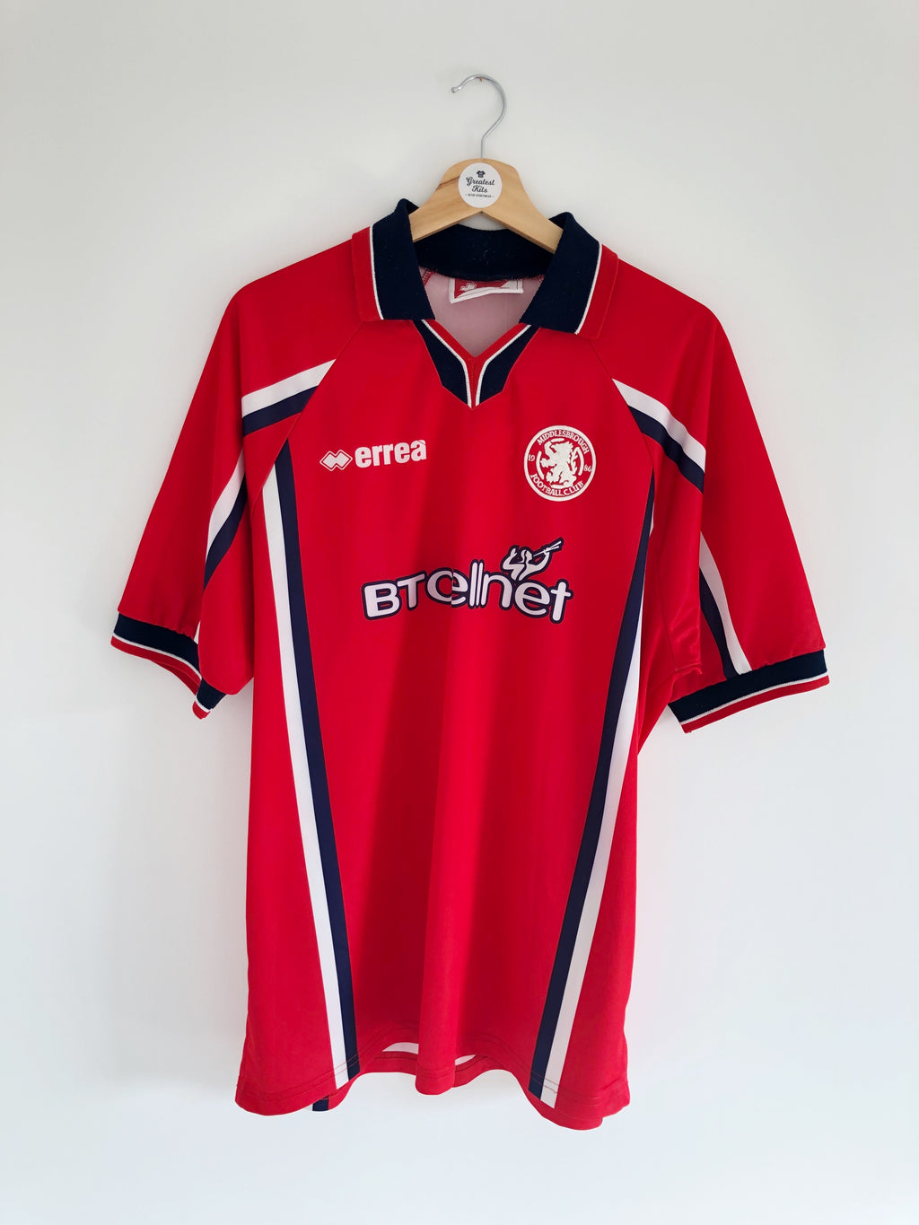1999/00 Middlesbrough Home Shirt (XL) 9.5/10