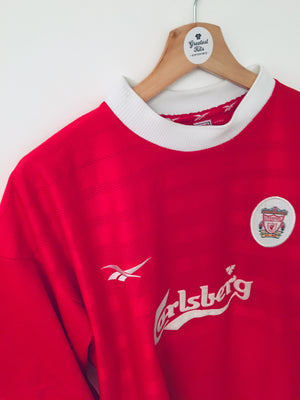 1998/00 Liverpool Home Shirt (XL) 9/10