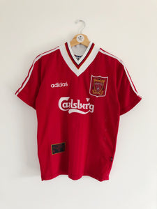 1995/96 Liverpool Home Shirt (S) 9.5/10