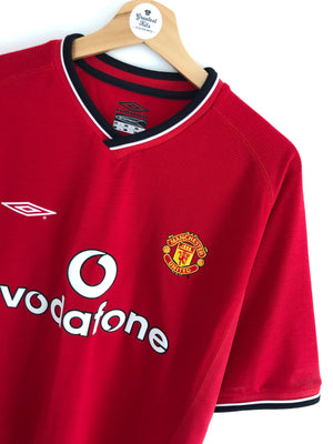 2000/02 Manchester United Home Shirt (L) BNWT