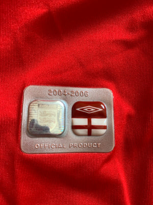 2004/06 England Away Shirt (XXL) 8/10