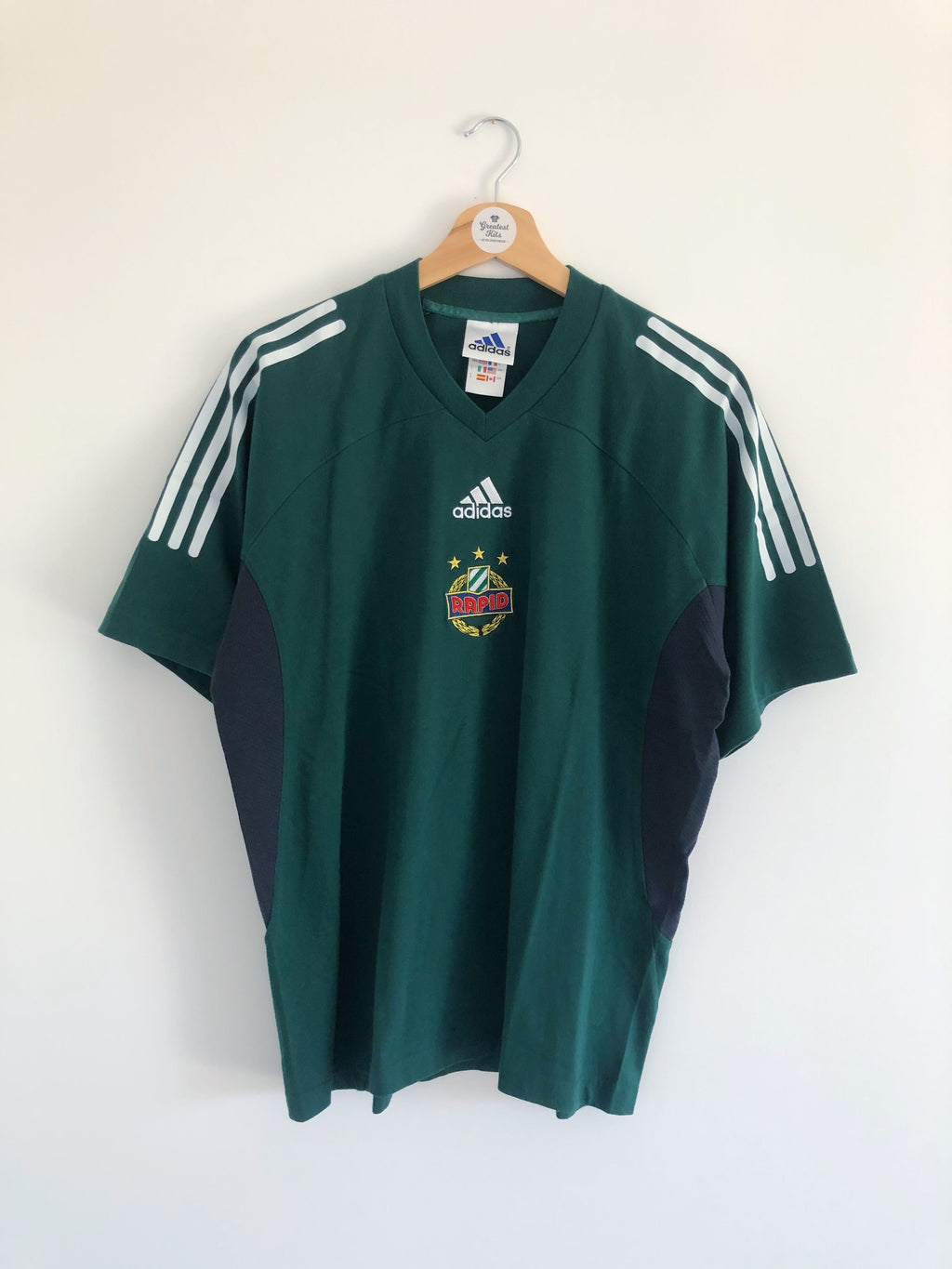 1999/01 Rapid Vienna Training Shirt (M) 9.5/10