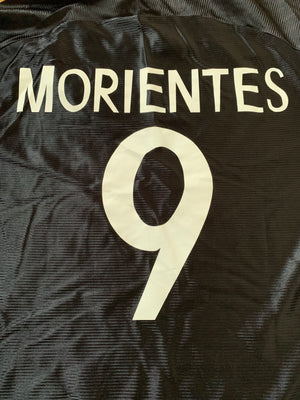 1999/01 Real Madrid Away Shirt Morientes #9 *MINT* (S)