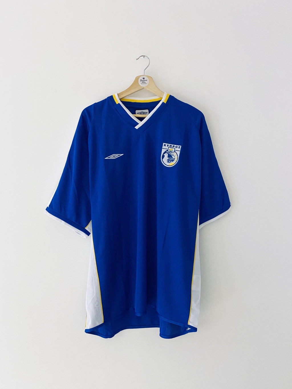 2003/04 Cyprus Home Shirt (XL) 9/10