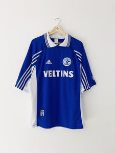 1998/99 Schalke Home Shirt (XL) 9/10