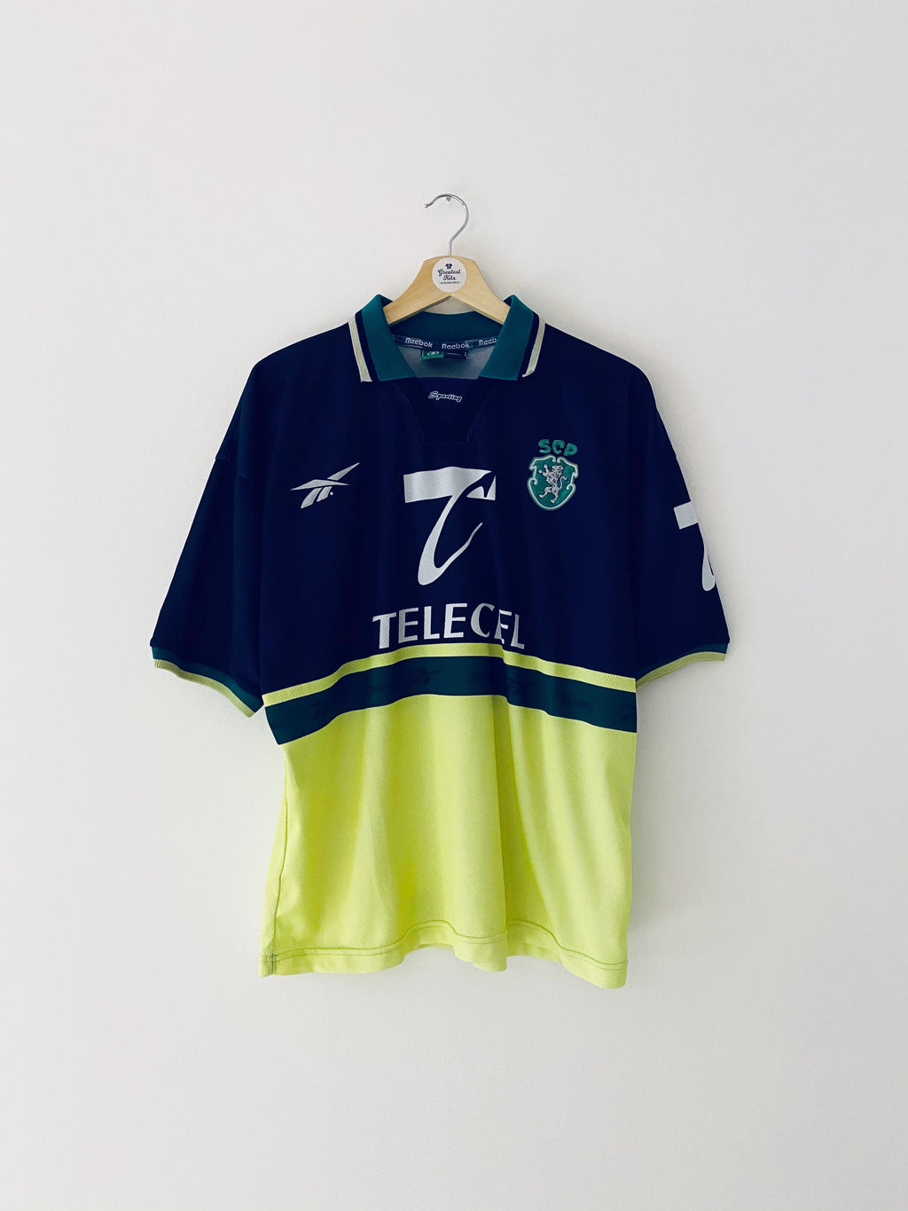 1998/99 Sporting Lisbon Away Shirt (M) 9/10