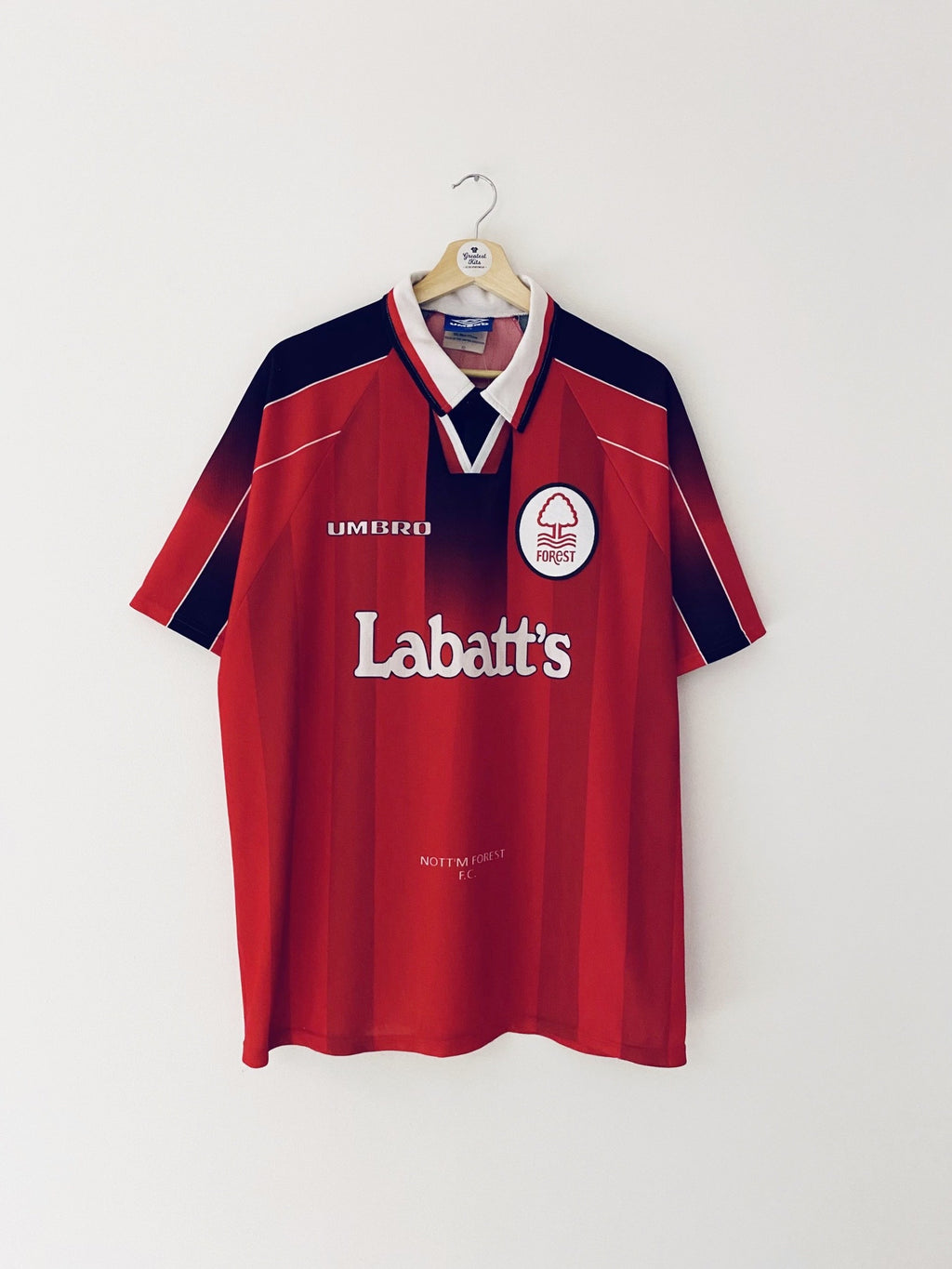 1996/97 Nottingham Forest Home Shirt (XXL) 9/10