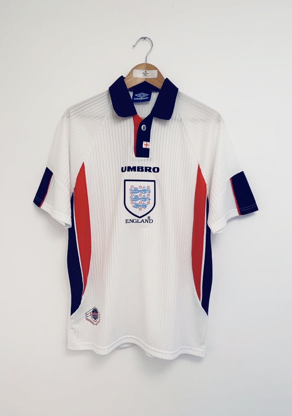 1997/99 England Home Shirt (M) 7/10