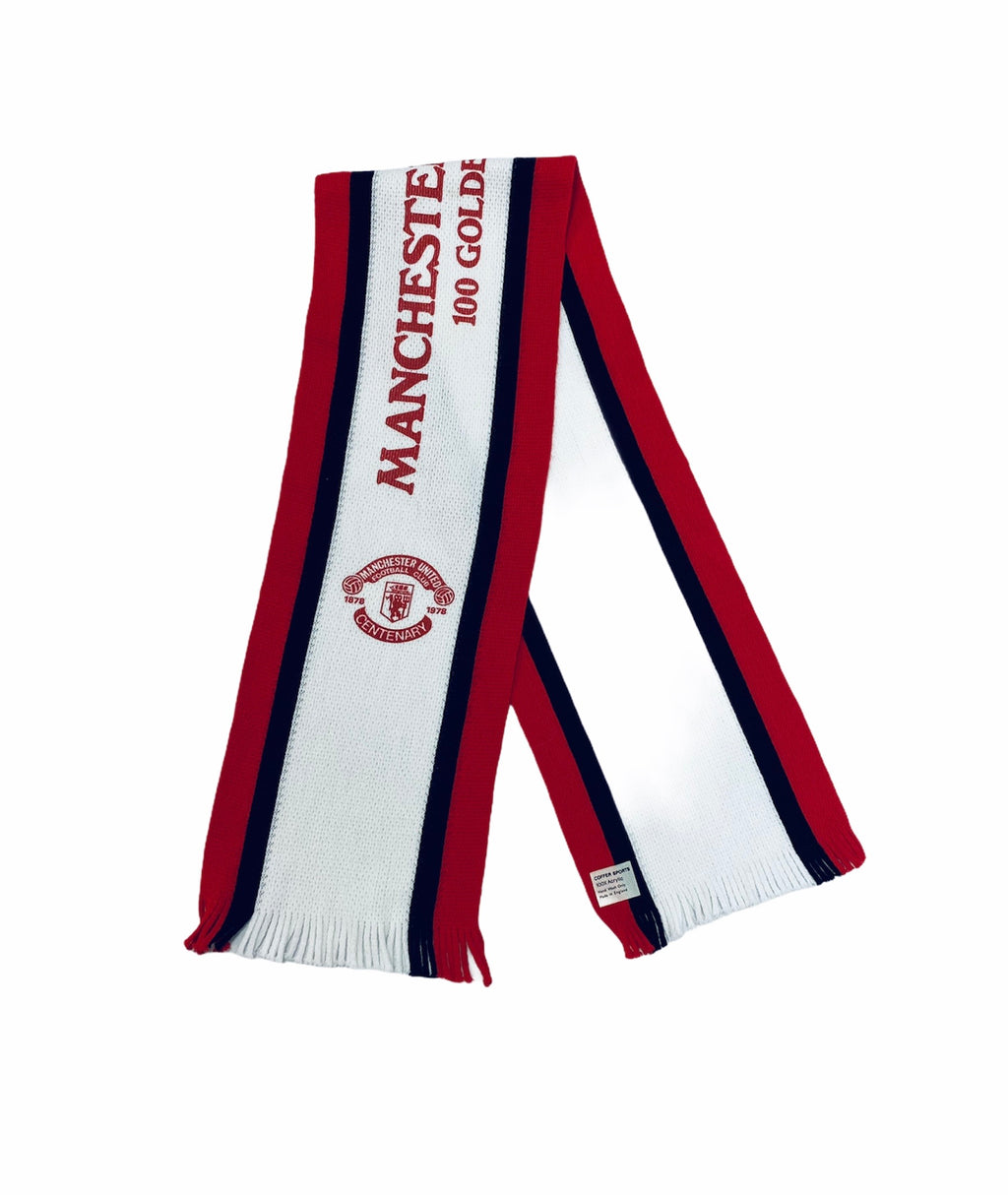 1978 Manchester United Centenary Scarf