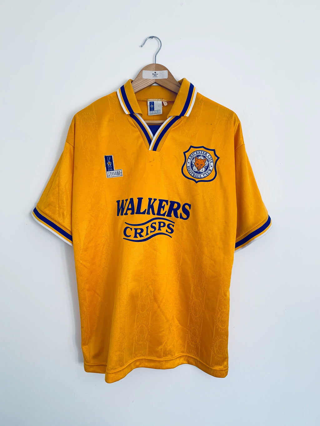 1994/96 Leicester Away Shirt (M) 7.5/10