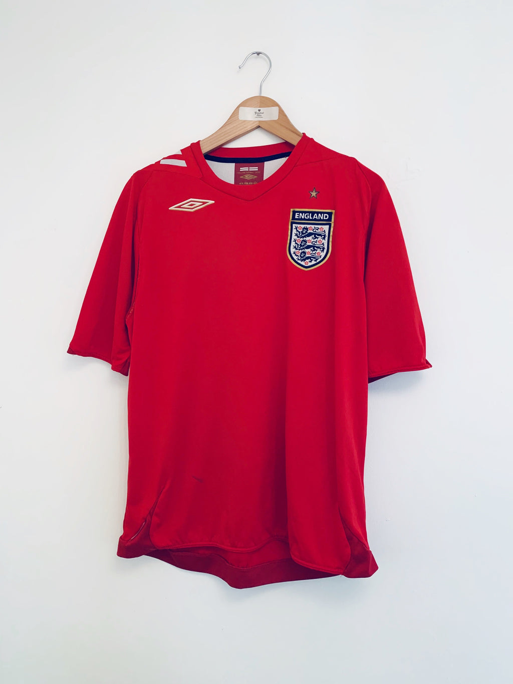 2006/08 England Away Shirt (L) 6.5/10