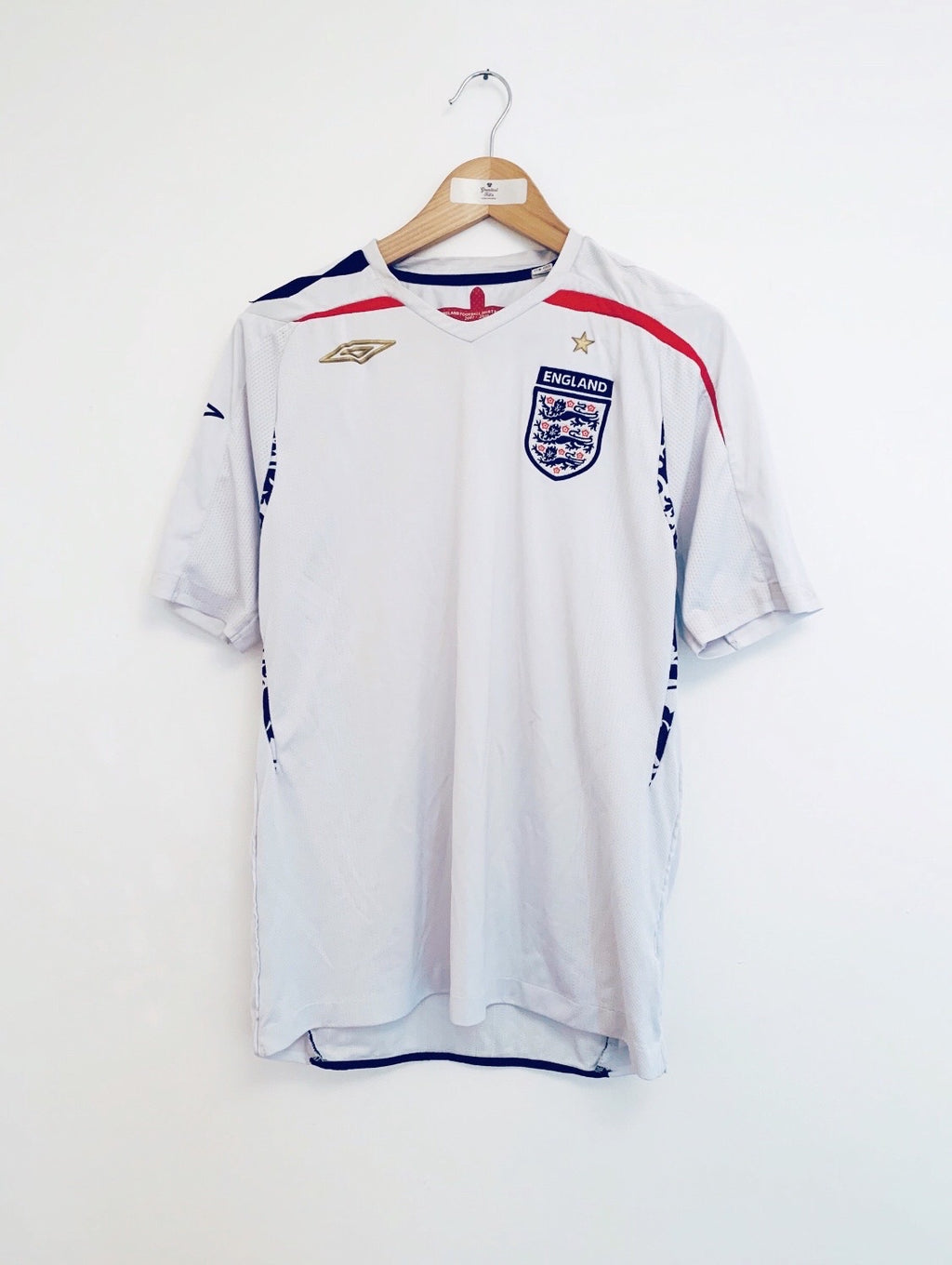 2007/09 England Home Shirt (M) 8/10