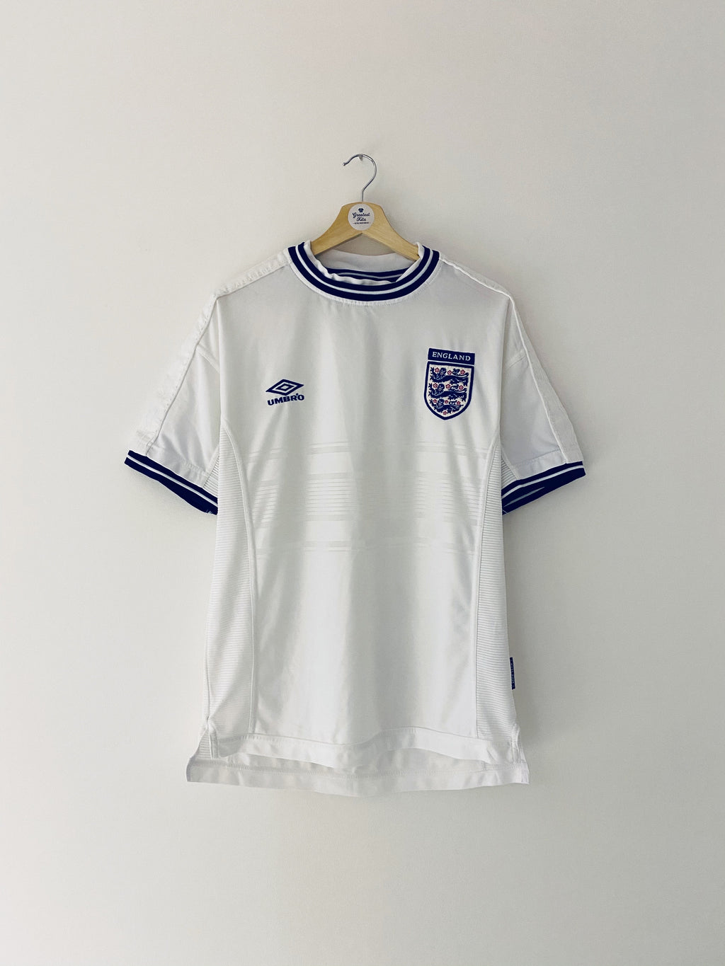 1999/01 England Home Shirt (M) 9/10