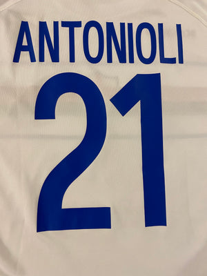 2005/06 Sampdoria *Player Issue* UEFA Cup GK S/S Shirt Antonioli #21 (M) 7/10