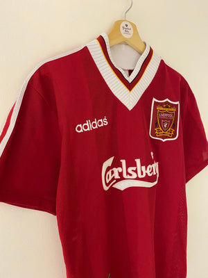 1995/96 Liverpool Home Shirt (S) 8/10