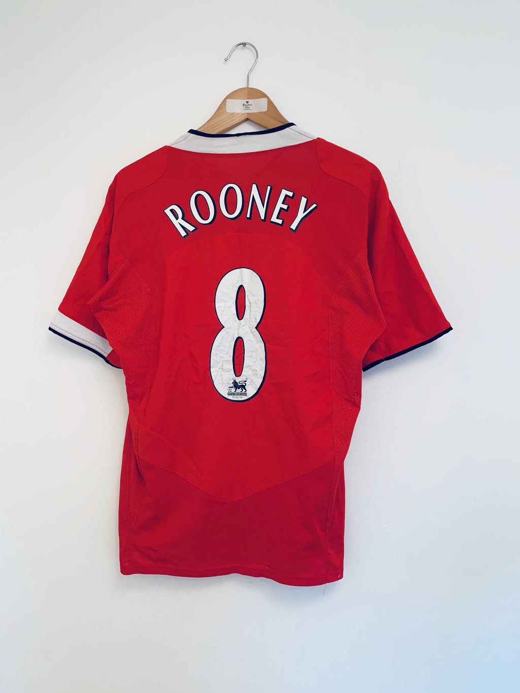 2004/06 Manchester United Home Shirt Rooney #8 (M) 7/10