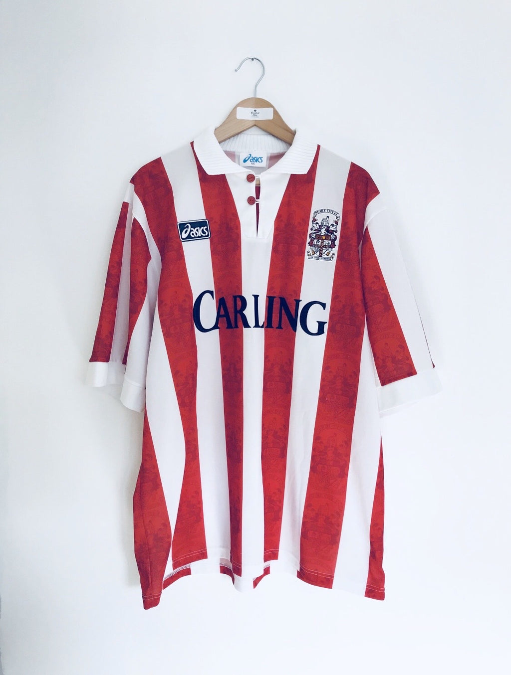 1994/95 Stoke City Home Shirt (XXL) 9/10