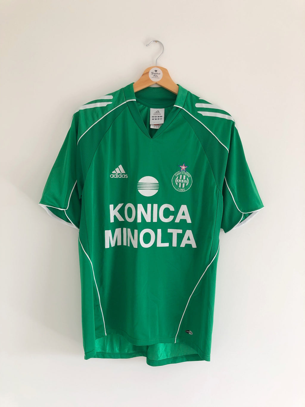 2005/06 Saint Etienne Home Shirt (S) 9/10