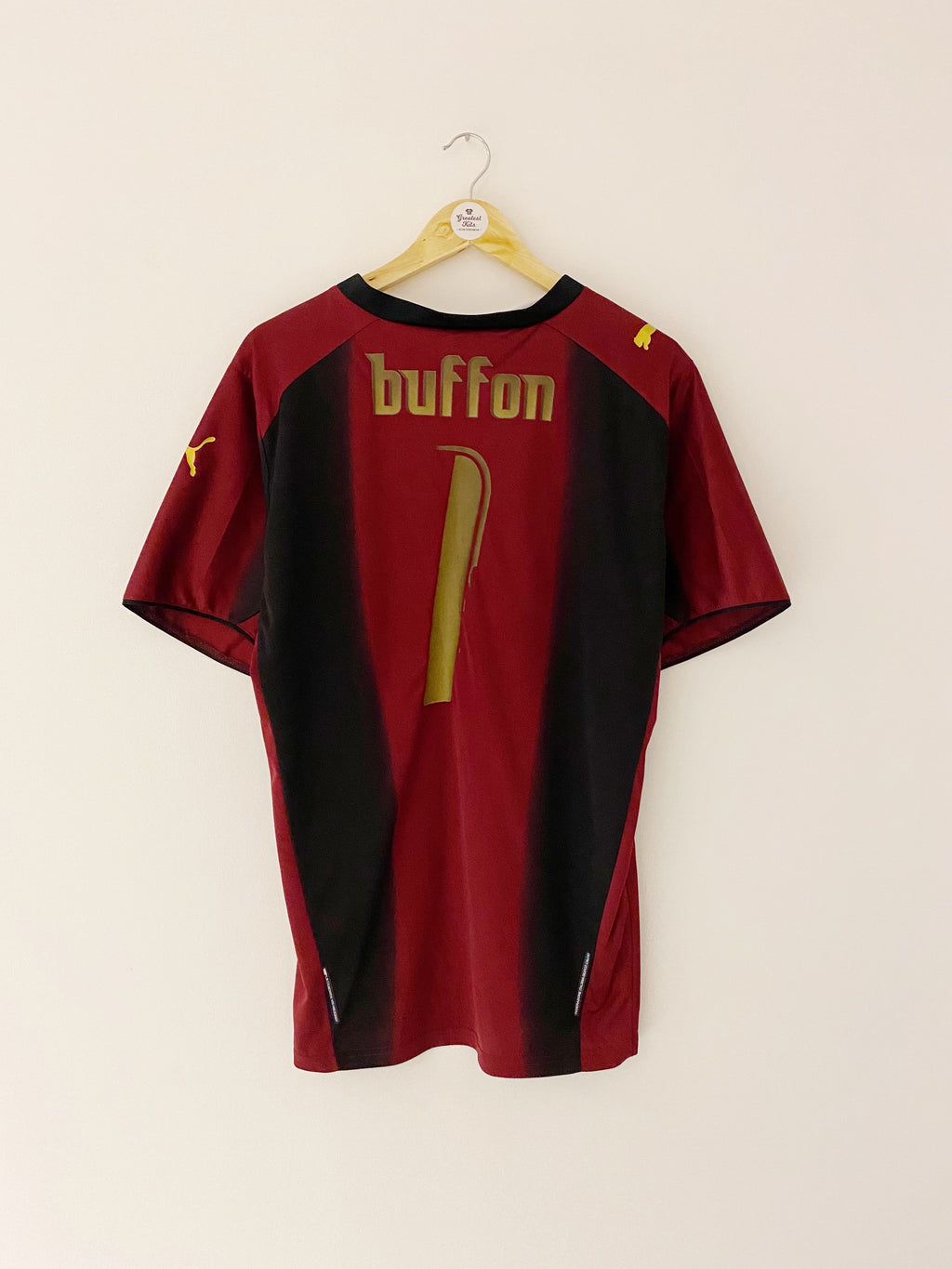 2006 Italy GK S/S Shirt Buffon #1 (XL) 7/10