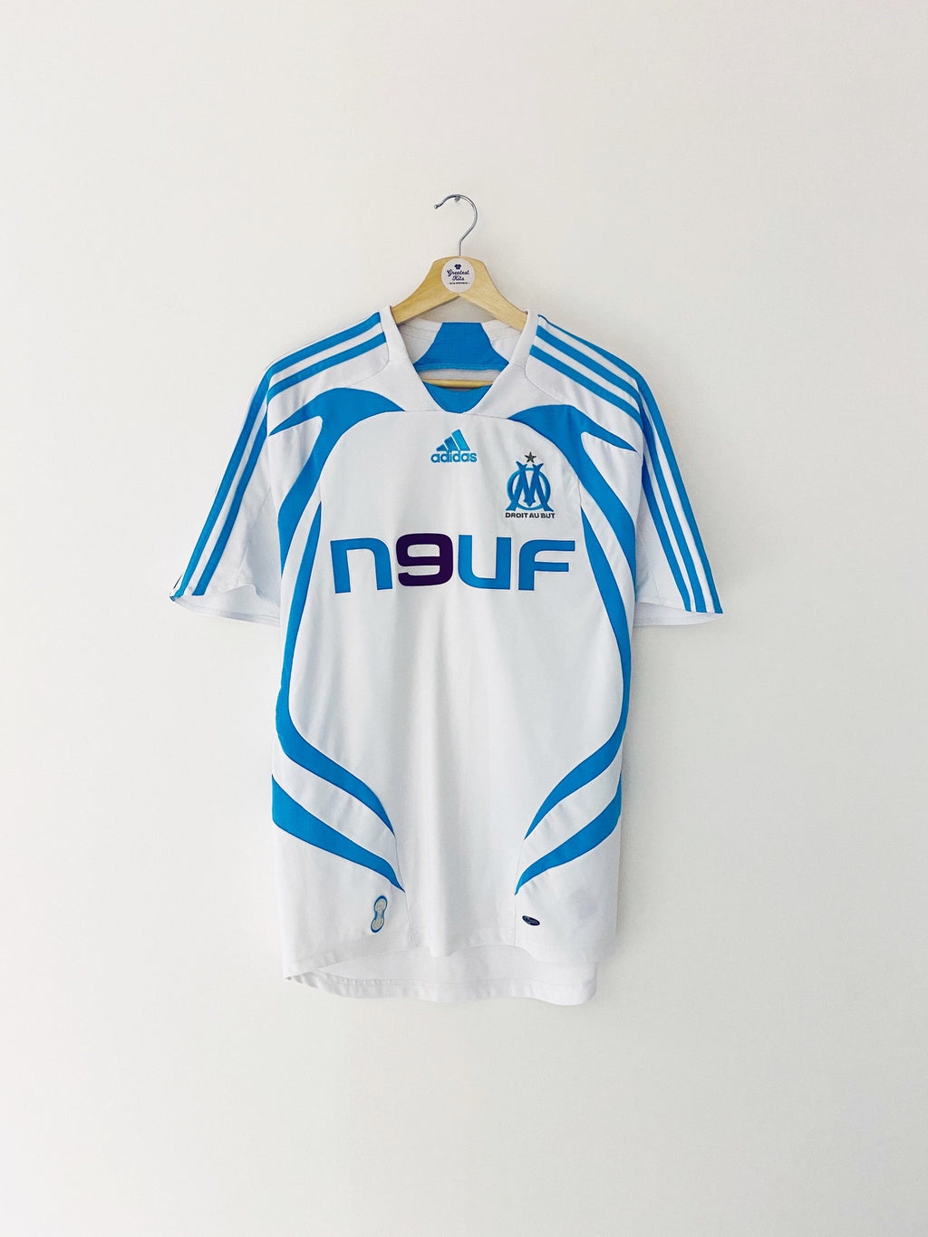 2007/08 Olympique Marseille Home Shirt (S) 9/10