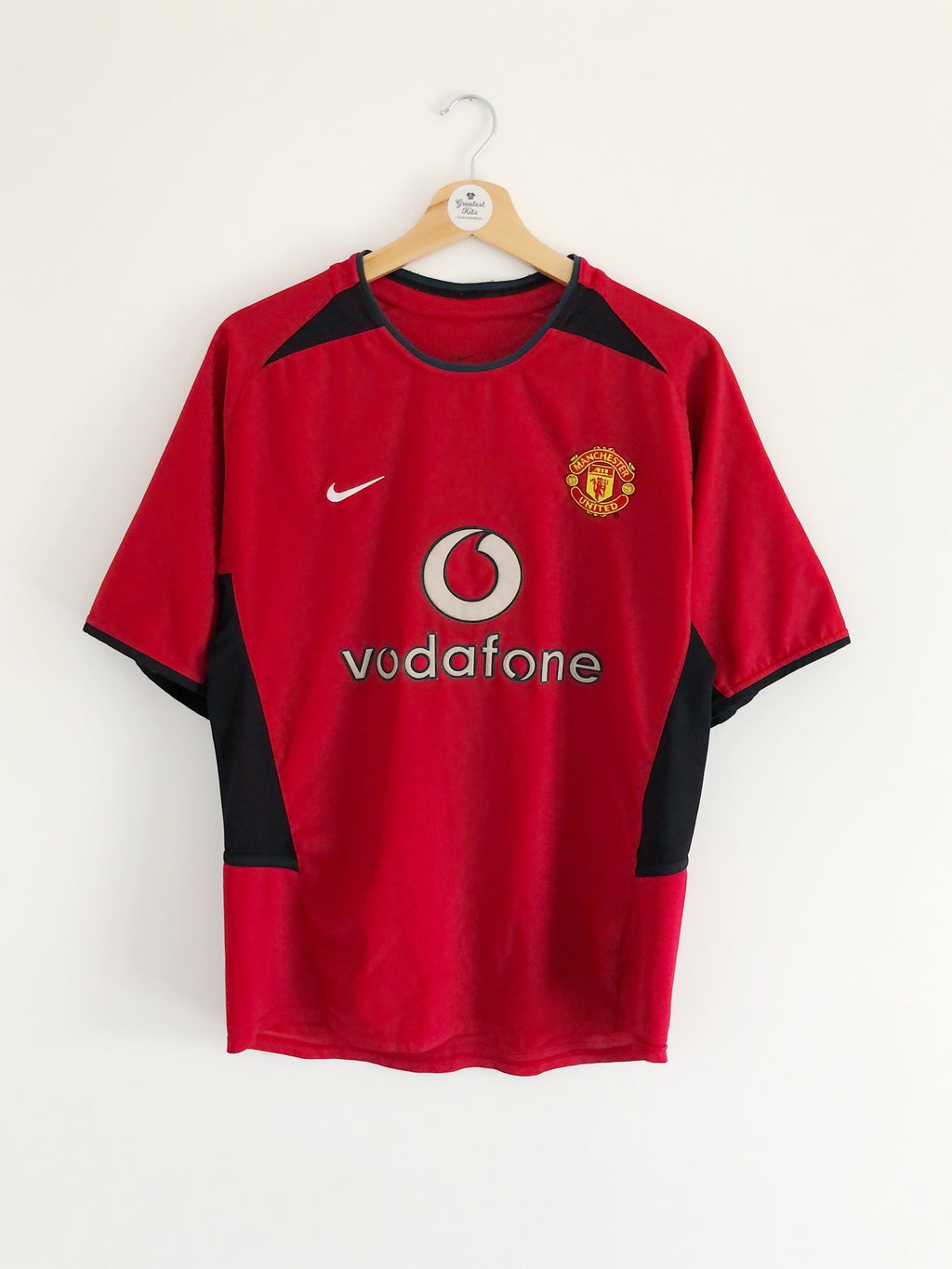 2002/04 Manchester United Home Shirt (S) 7.5/10