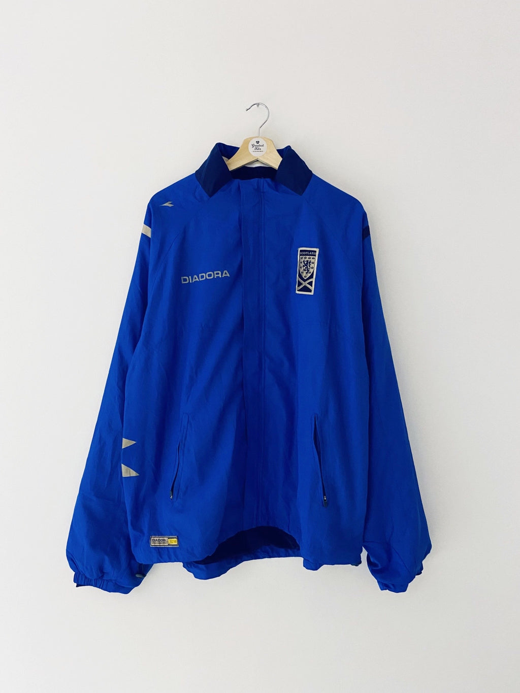 2003/05 Scotland Training Jacket (XXL) 9/10