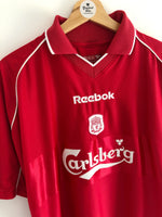 2000/02 Liverpool Home Shirt (M) 9/10