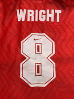 1996/98 Arsenal Home Shirt Wright #8 (L) 8.5/10
