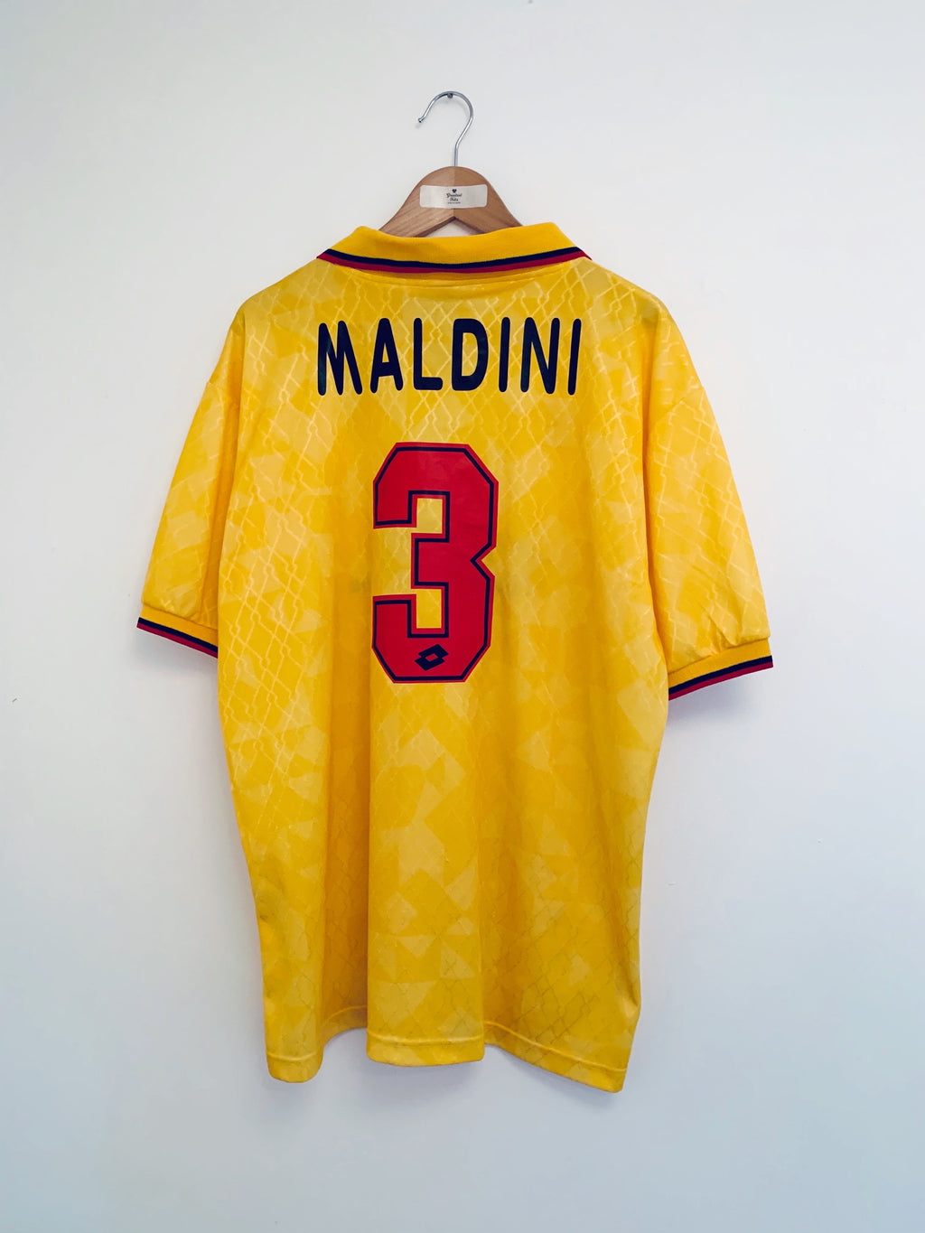 1994/96 AC Milan Third Shirt Maldini #3 (XL) 9/10