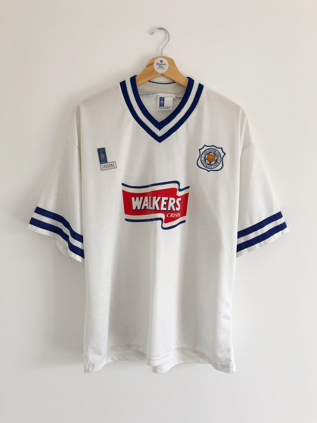 1996/98 Leicester Away Shirt #2 (L) 8.5/10