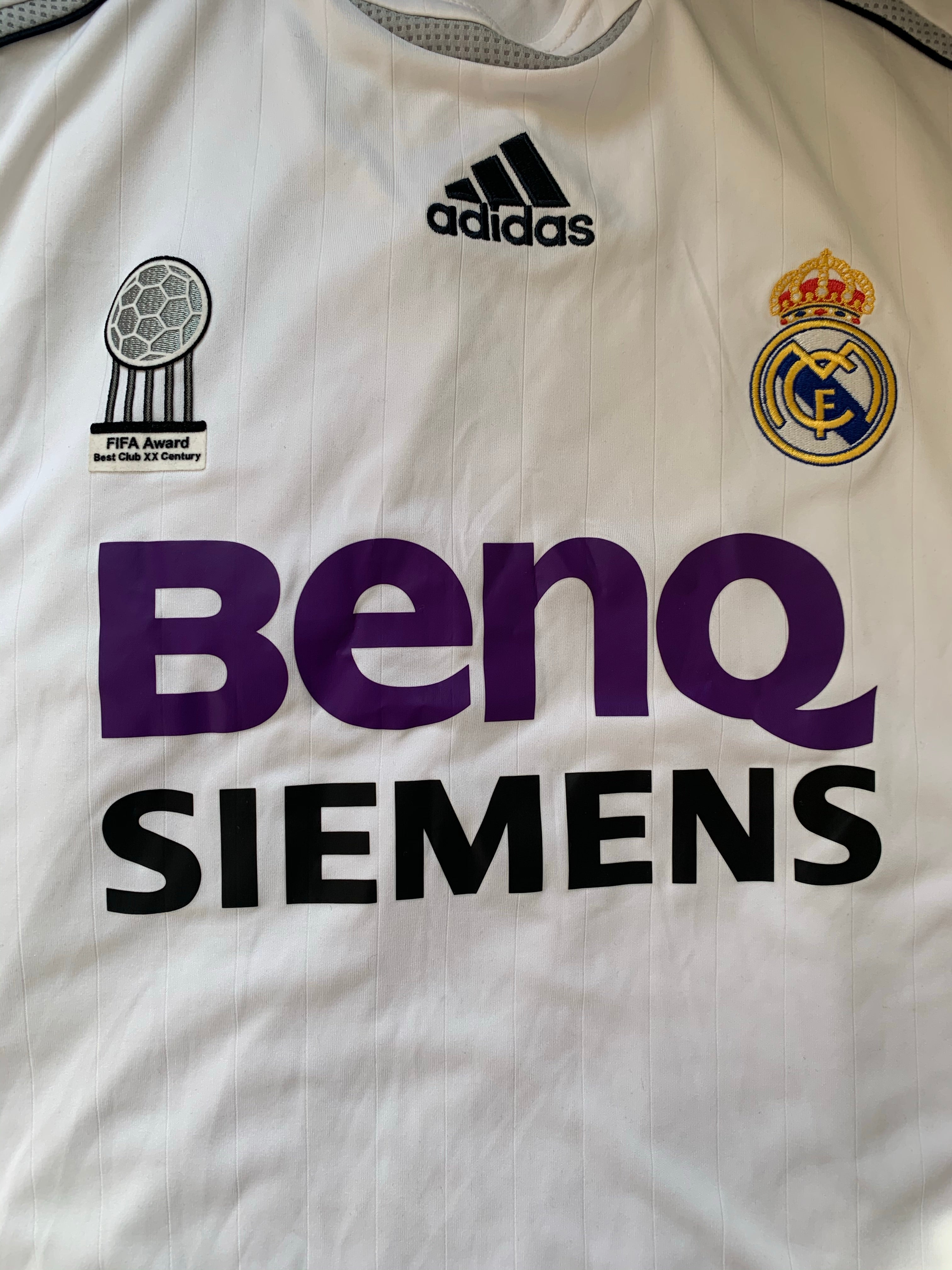 2006/07 Real Madrid Home Shirt (M) 9/10