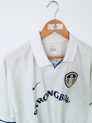 2002/03 Leeds United Home Shirt (M)