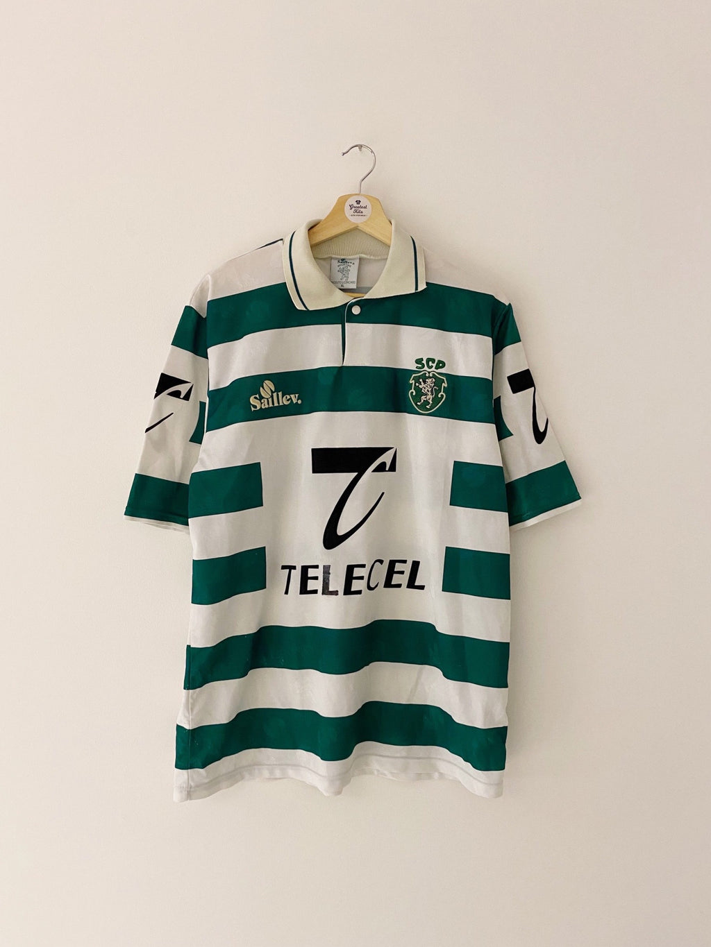1996/97 Sporting Lisbon Home Shirt (XL) 6/10