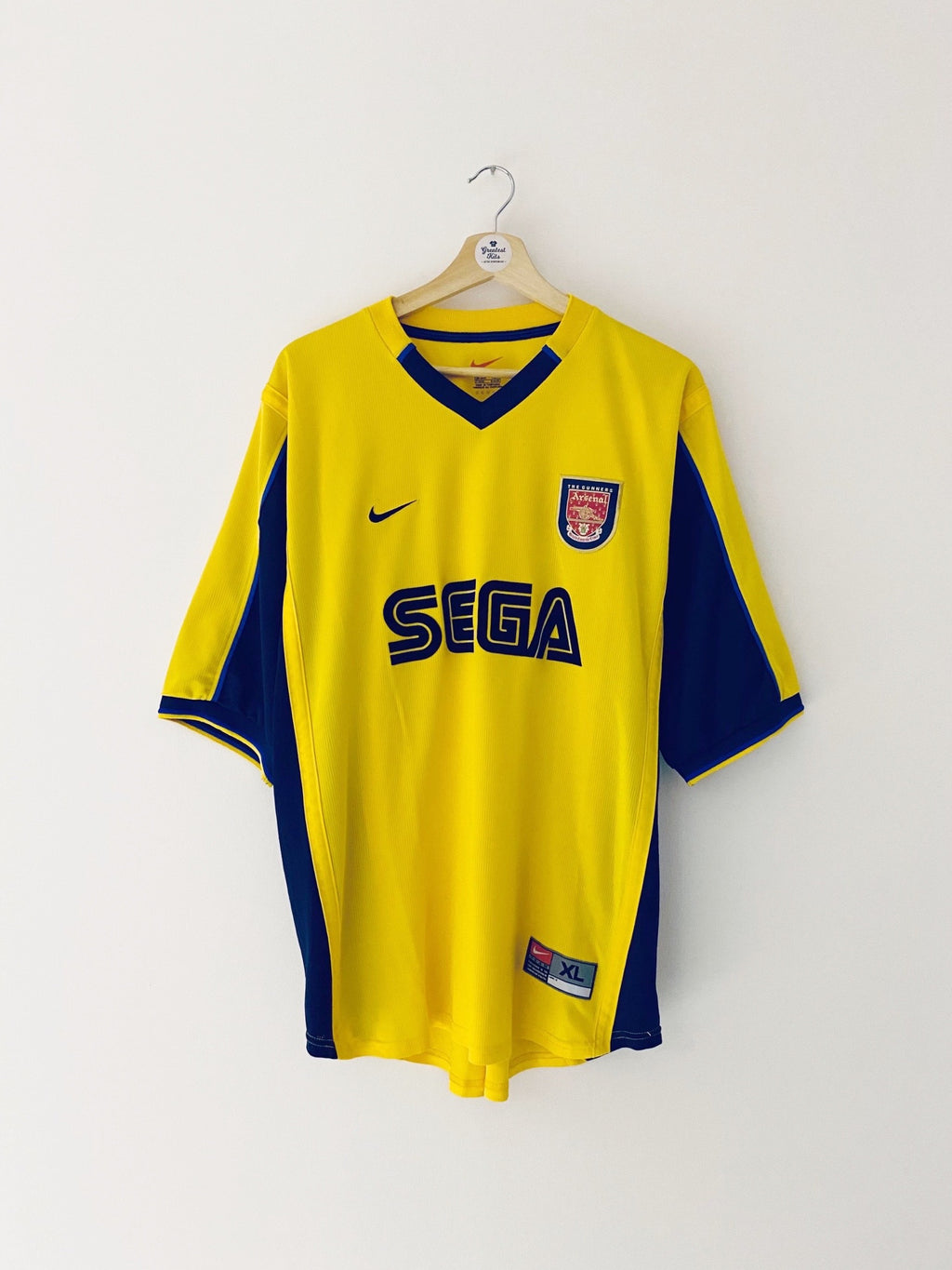 1999/01 Arsenal Away Shirt (XL) 9/10