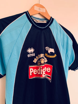 2001/03 Derby County Away Shirt (XS) 7.5/10