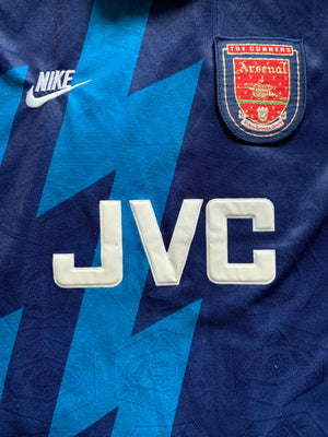 1995/96 Arsenal Away Shirt (L) 9/10