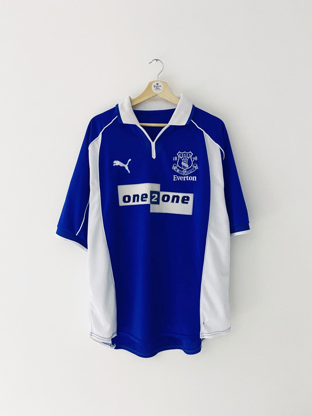 2000/02 Everton Home Shirt (L) 5.5/10
