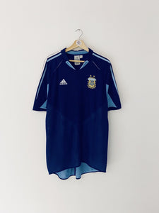 2004/05 Argentina Away Shirt (XL) 7.5/10