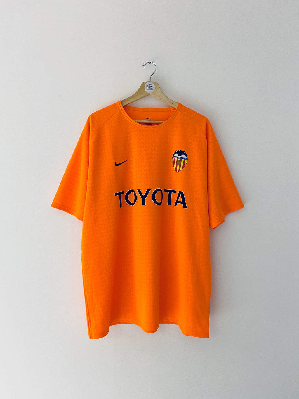 2003/04 Valencia Basic Away Shirt (XL) 9.5/10