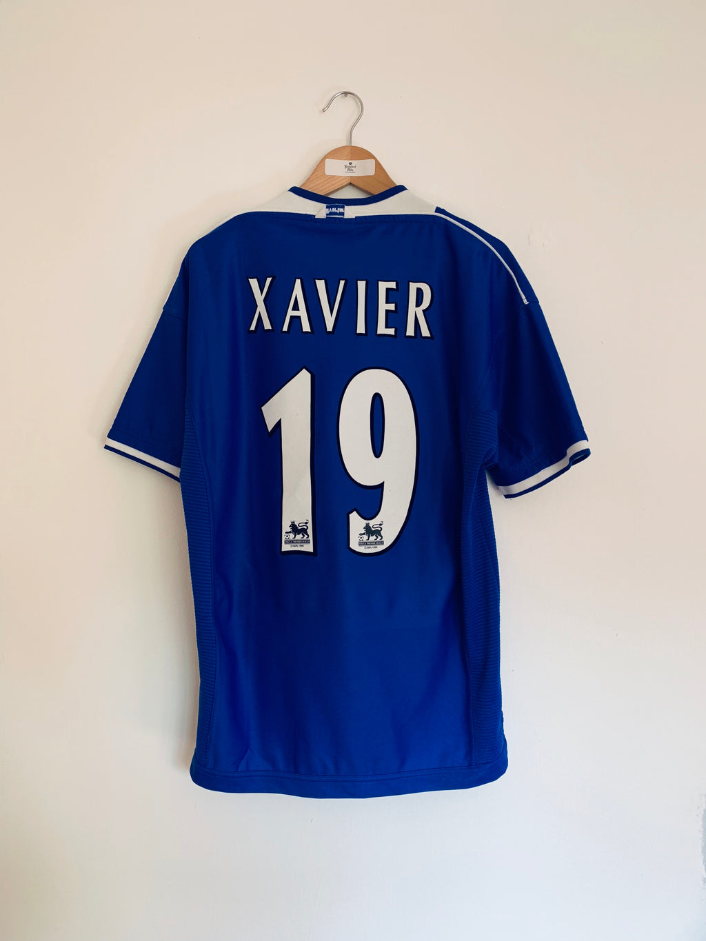 1999/00 Everton Home Shirt Xavier #19 (L) 9.5/10
