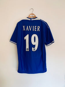 1999/00 Everton Home Shirt Xavier #19 (L)