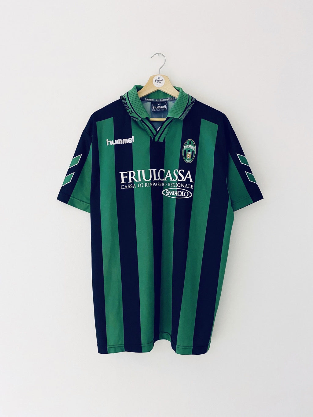 2004/05 Pordenone *Match Issue* Home Shirt #14 (XL) 8/10