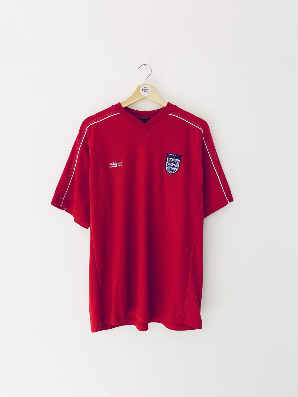 2001/02 England Training Shirt (L) 9.5/10