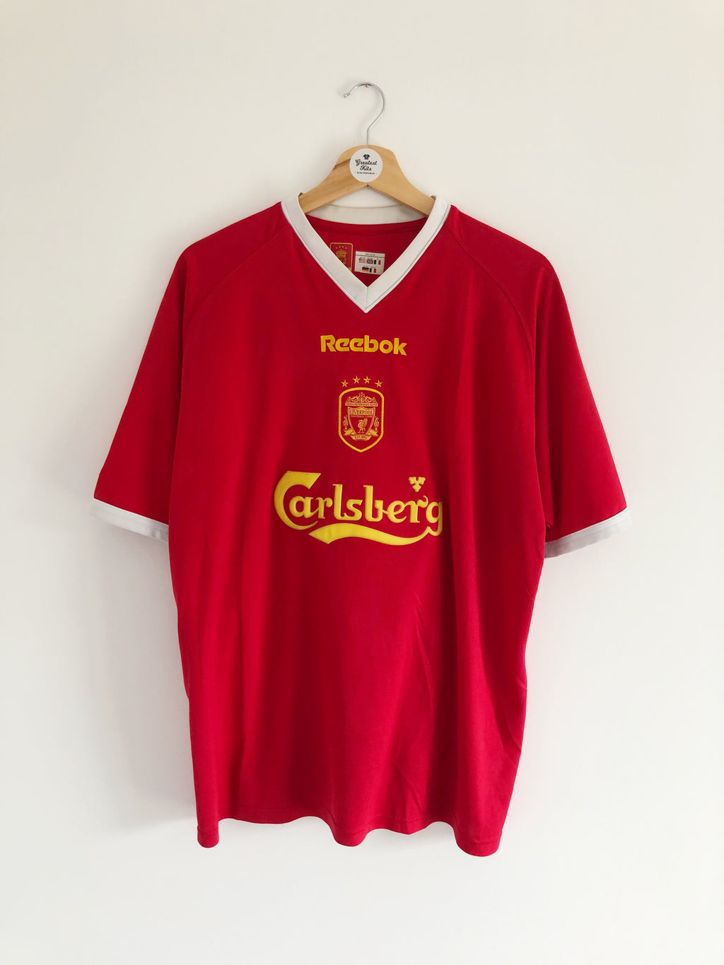 2001/03 Liverpool European Shirt (L) 8.5/10