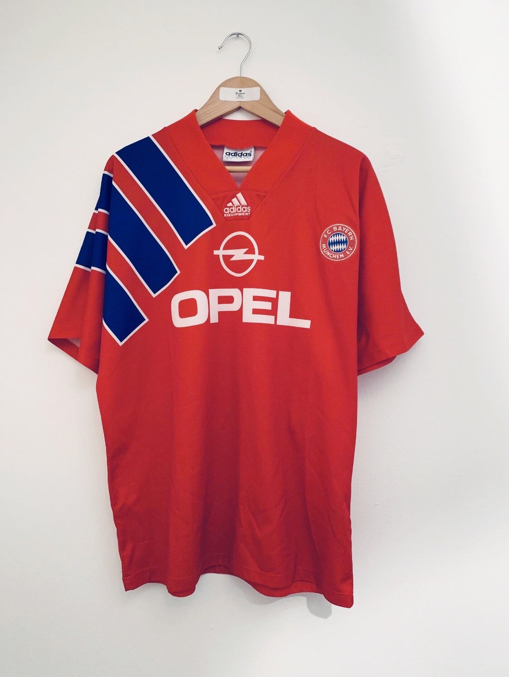 1991/93 Bayern Munich Home Shirt (L) 8.5/10
