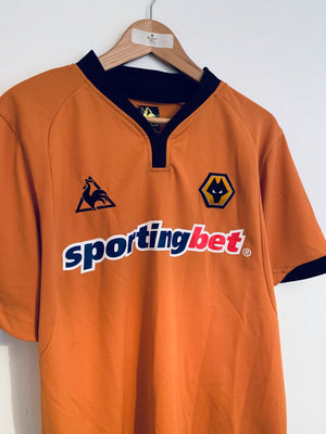 2009/10 Wolves Home Shirt (L) 9/10